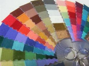 color wheel closeup
