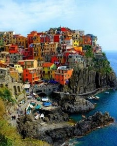 Cinque Terre on the Italian Riviera